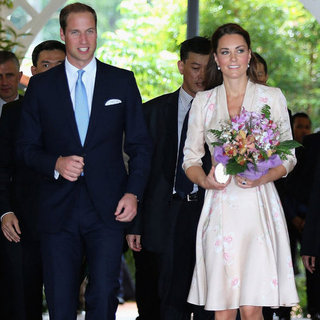 Pictures Of Kate Middleton And Prince William In Singapore