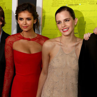Nina Dobrev And Emma Watson At Wallflower Premiere In LA