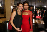 Nina Dobrev posed with Shailene Woodley, who was in attendance at the LA premiere of The Perks of Being a Wallflower.