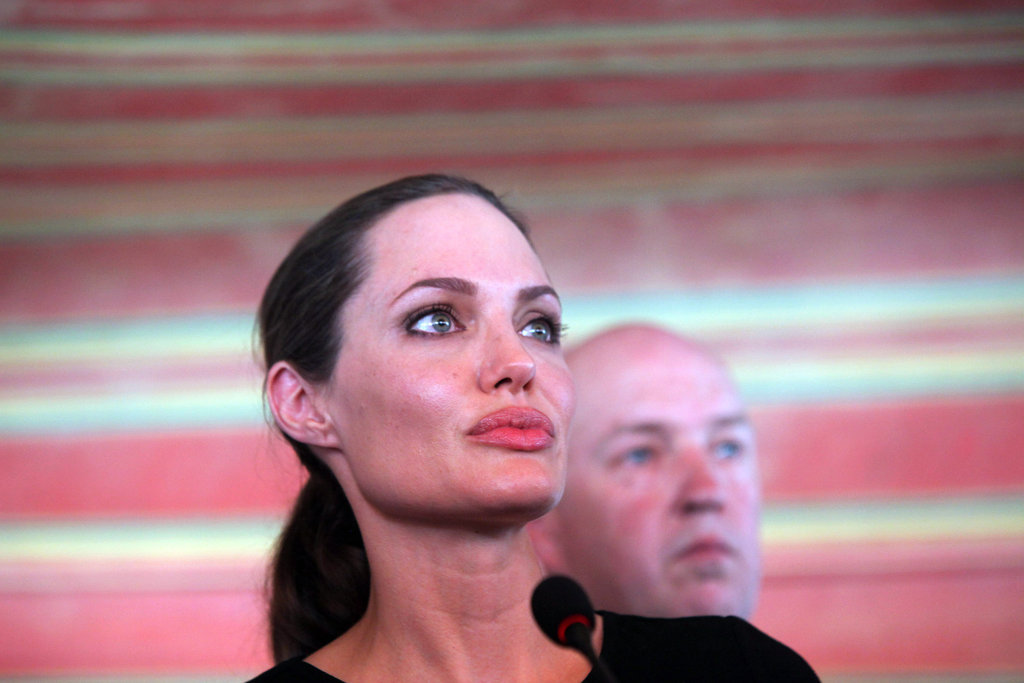 Angelina Jolie is a UN Goodwill Ambassador.