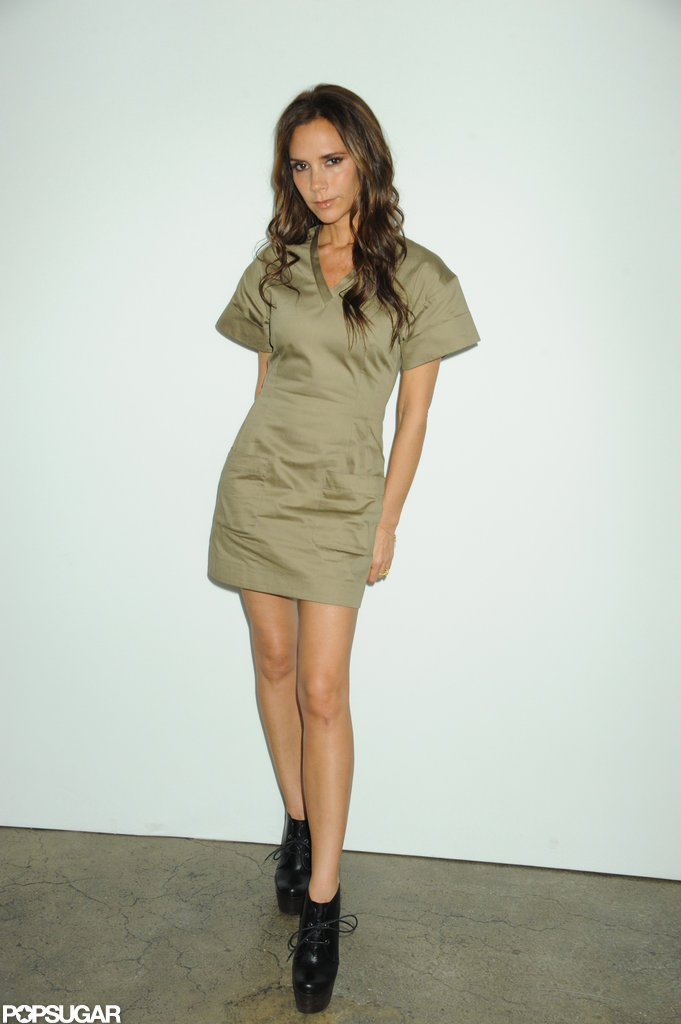 Victoria Beckham was at NYFW.