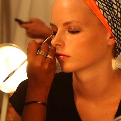 Backstage Access To the Marc by Marc Jacobs 2013 Spring Hair and Makeup Looks
