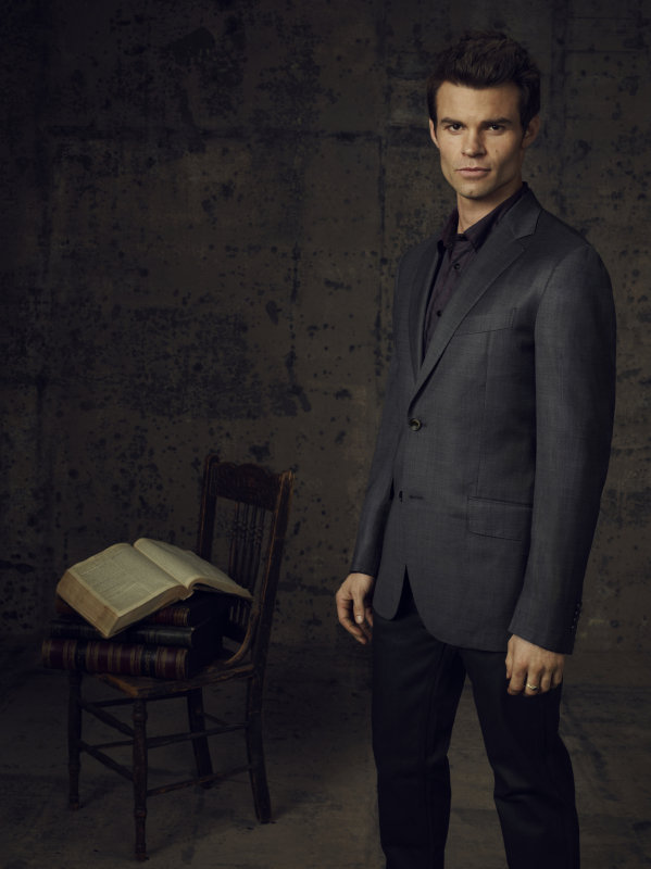 Daniel Gillies as Elijah on season four of The Vampire Diaries.