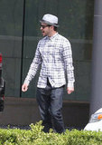 Justin Timberlake wore jeans in Century City.
