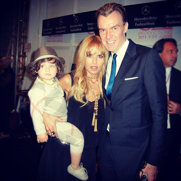 Neiman Marcus Fashion Director Ken Downing posed with Rachel Zoe and Skyler Berman at the Fashion Week tents. Source: Instagram user neimanmarcus