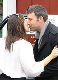 Ben Affleck and Jennifer Garner got close in Brentwood.