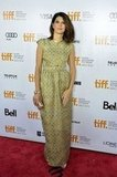 Marisa Tomei posed on the red carpet at the Inescapable premiere at the Toronto International Film Festival.