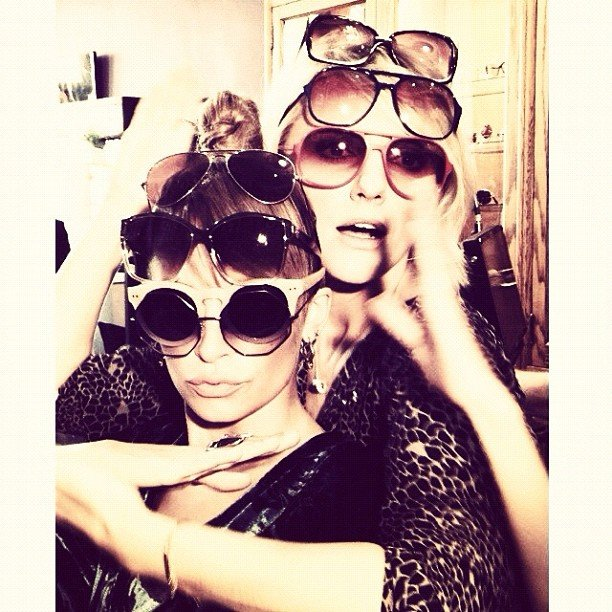 Nicole Richie overaccessorised. Source: Instagram user nicolerichie
