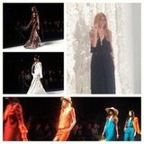 Rachel Zoe took the catwalk at the end of her show. Source: Instagram user thezoereport