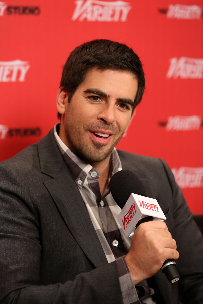 Eli Roth spoke at a Variety event.