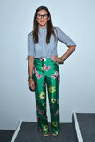 Jenna Lyons did her J.Crew mix-and-match thing at the label's Spring presentation.