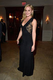 Abbie Cornish rocked a black Emilio Pucci jumpsuit; the sexy lace paneling gave the one-piece its textural intrigue.