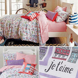 Land of Nod Streets of Paree Bedding ($14-$119)