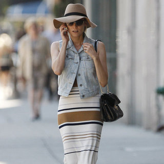 Diane Kruger Wearing Denim Vest