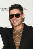 Zac Efron wore sunglasses on the red carpet for the Arbitrage premiere in NYC.