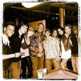 The cast and crew of 90210 shared a photo.  Source: Instagram user tristanwilds