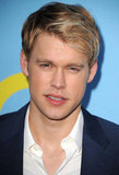 Chord Overstreet smiled on the red carpet.