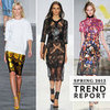 The Top Runway Trends from New York Fashion Week Spring 2013: Sporty, Sheer, Oversize, Monochrome &amp; more: