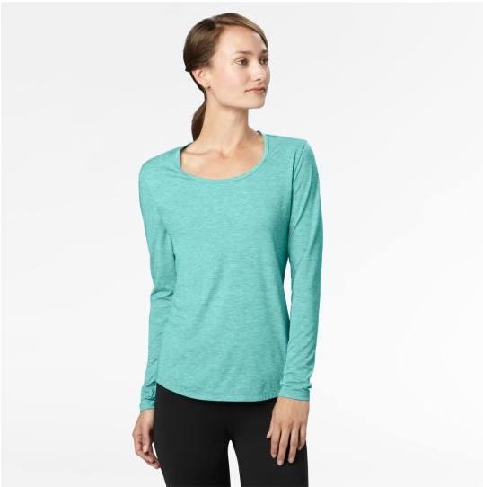 Lucy Long-Sleeve Workout Tee