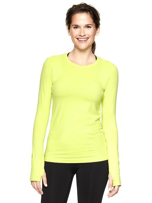 GapFit Motion Seamless Long-Sleeve Top