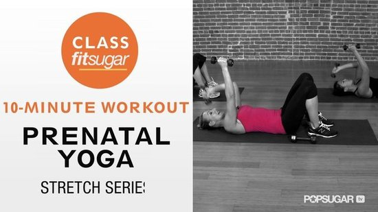 Stretch It Out: 10-Minute Prenatal Yoga Sequence