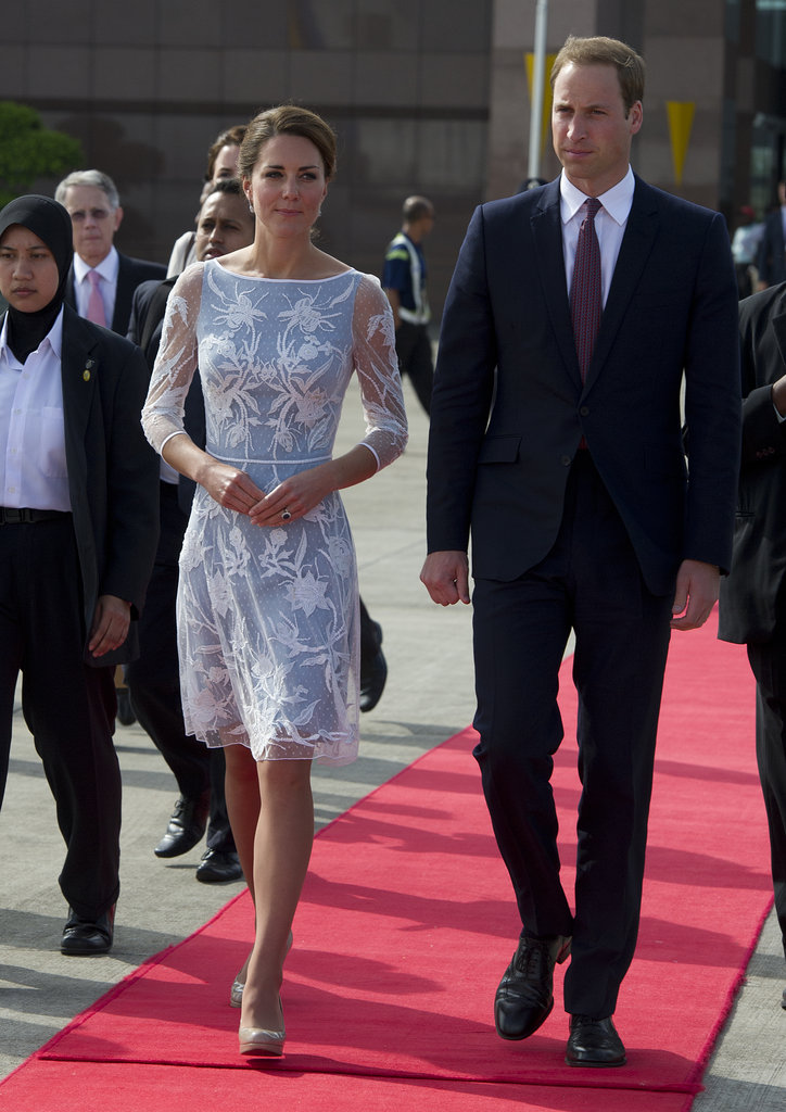 Will and Kate walked together in Malaysia on day four of their Asian tour.