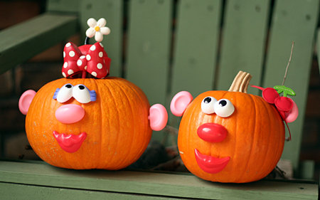 Potato Head Pumpkins