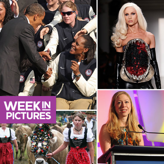 Obama Honors Olympians, Chelsea Clinton Takes the Mic, and Fashion Week Gets Wild