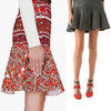 Currently Trending: Top Five Drop-Peplum Skirts to Shop Now: Stella McCartney, Thakoon, Altuzarra, Forever New and more