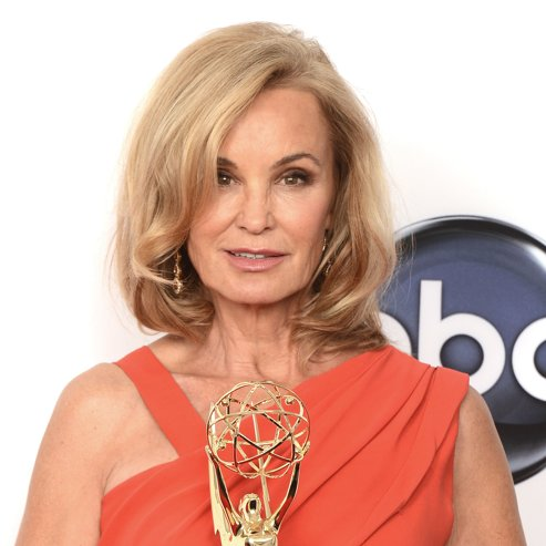 Jessica Lange Emmy Interview in Press Room 2012