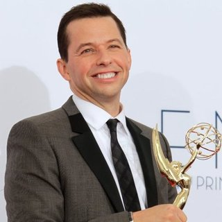 Jon Cryer Emmy Press Room Interview 2012