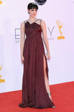 Hatfields & McCoys star Jena Malone walked the Emmys red carpet.