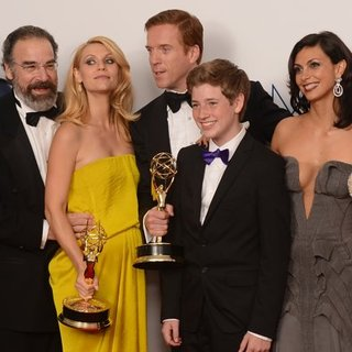 Homeland Cast Interview in Emmy Press Room