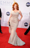 Mad Men's Christina Hendricks was nominated for outstanding supporting actress in a drama.