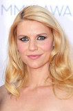 Claire Danes wore her hair down.