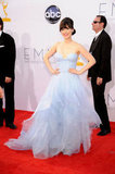 New Girl's Zooey Deschanel Steals the Emmys Spotlight in Reem Acra