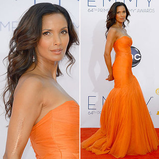Padma Lakshmi at the Emmys 2012