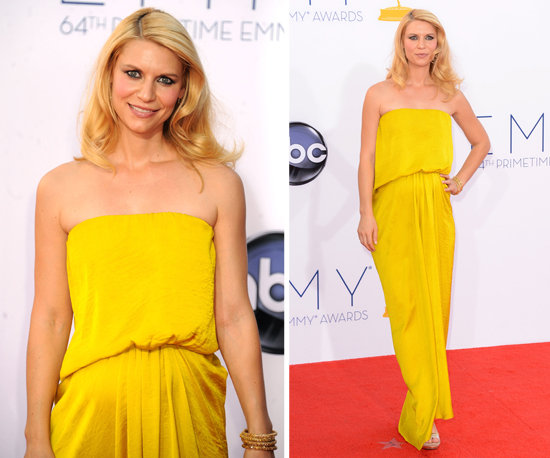 Claire Danes at the Emmys 2012