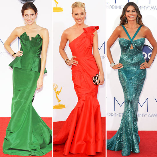 2012 Emmy Awards Trends: It's All About the Fishtail Flare