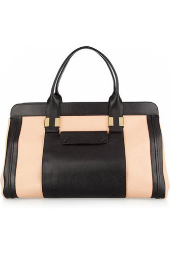 Chlo|Alice leather tote|NET-A-PORTER.COM