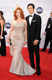 Christina Hendricks and Geoffrey Arend