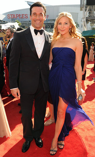 Jon Hamm and Jennifer Westfeldt(2012 Emmy Awards)