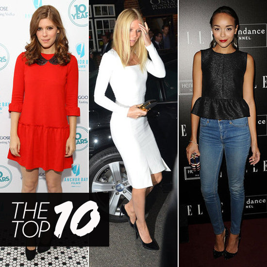 Top 10 Best Dressed of the Week: Kate Middleton, Gwyneth Paltrow, Kate Mara & More