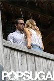 Blake Lively and Ryan Reynolds were out in South Carolina after their surprise wedding. Source: Alex Gutierrez