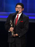 Rico Rodriguez took the stage to accept his award.