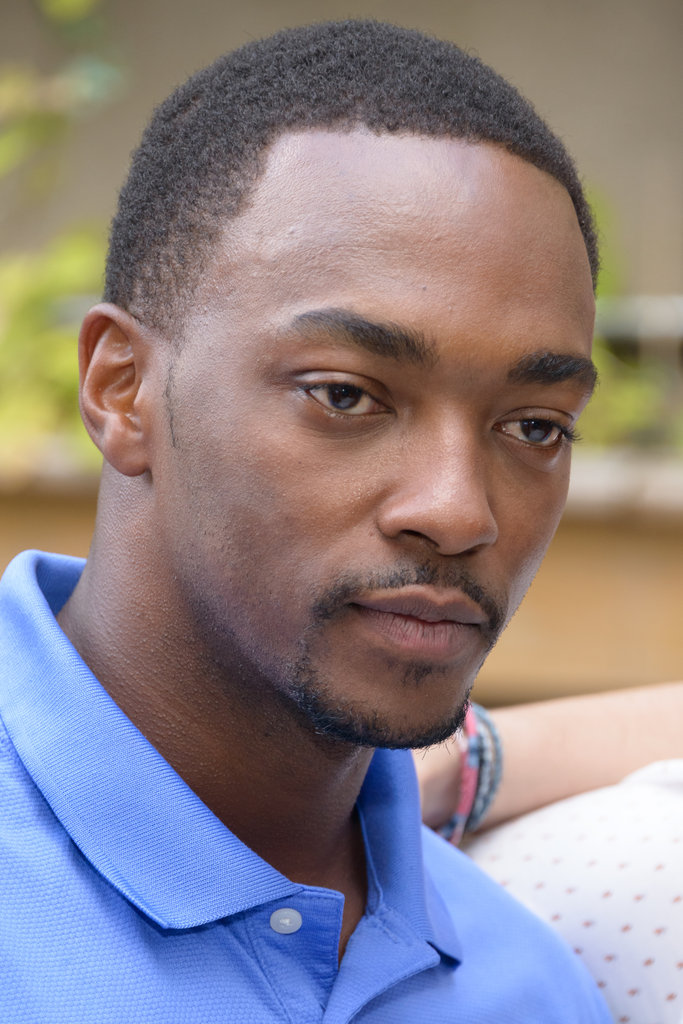 Anthony Mackie attended a Ten Years brunch in NYC.