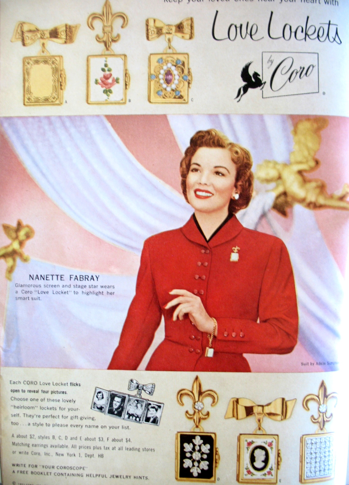 40s Luxurious Ladies Glam It Up In Vintage Jewelry Ads