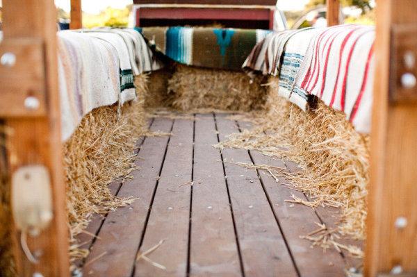 A Blanket-Filled Hayride