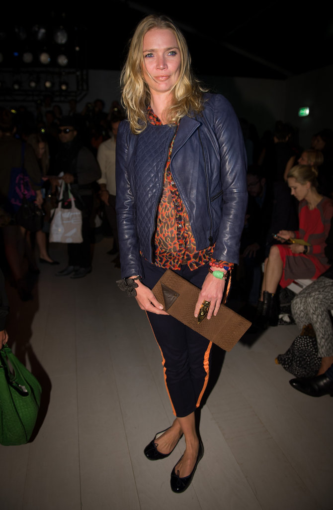 Jodie Kidd at Issa