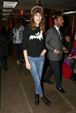 Alexa Chung at Moschino Cheap and Chic
